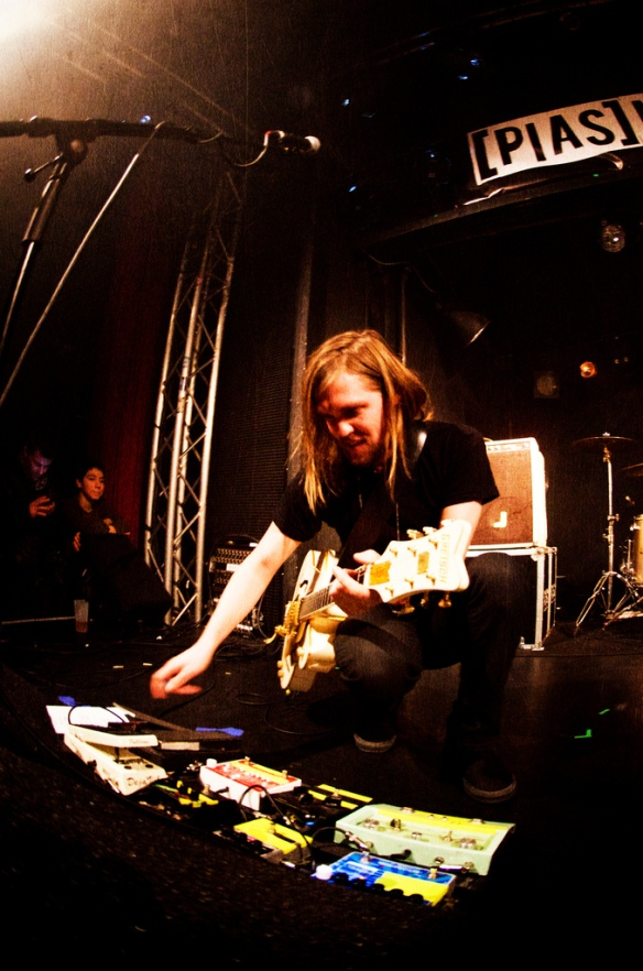 Russell Marsden pedalboard