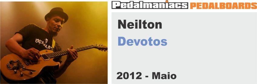 pedalboard do Neilton dos devotos