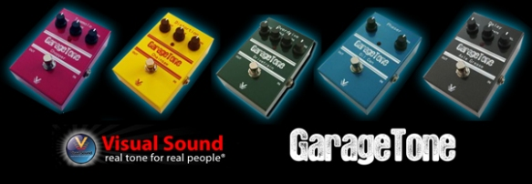 garagetone pedais visual sound
